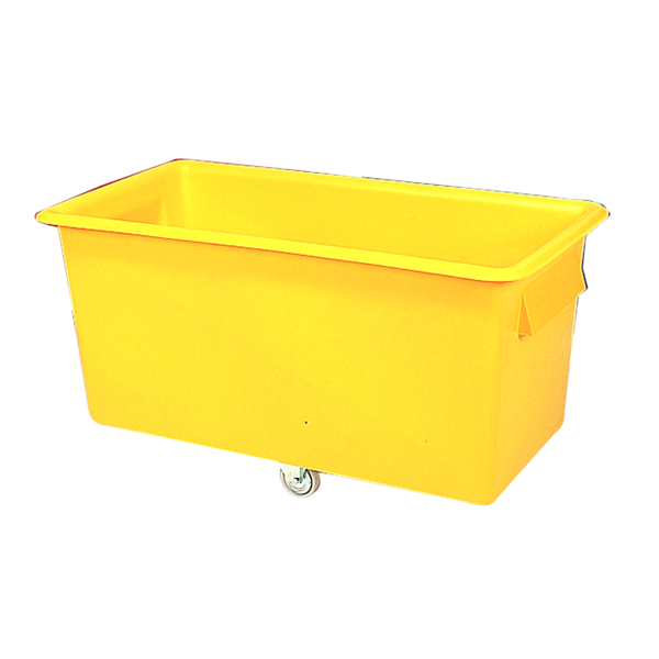 Yellow Container Truck 340 Litre 1219x610x610mm 329959