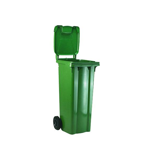 Wheelie Bin 120 Litre Green (W480 x D555 x H930mm) 331109