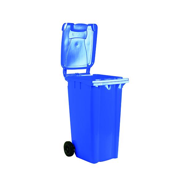 Wheelie Bin 140 Litre Blue (W480 x D555 x H1070mm) 331147