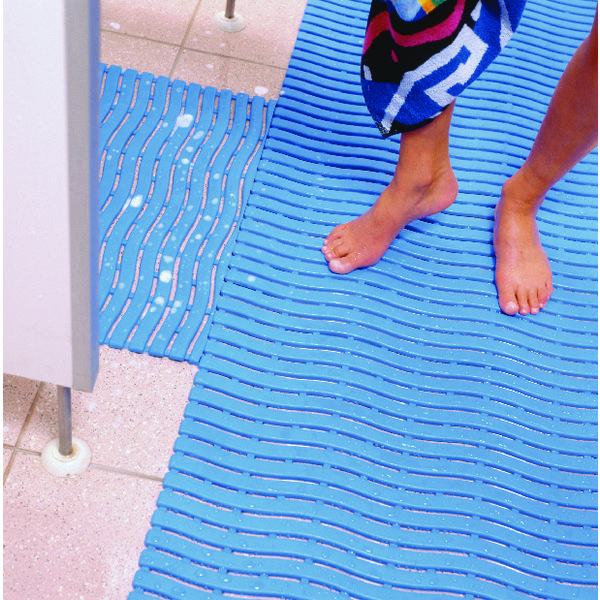 VFM Blue Leisure Safety Mat 600mmx15m 348795