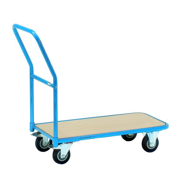 VFM Economy Store Room Trolley 200kg Blue /Brown 357363