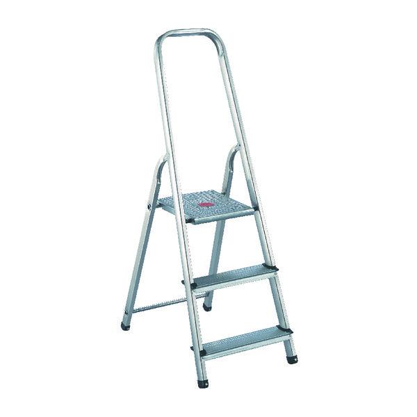 Aluminium Step Ladder 3 Step (Platform sits 570mm Above the Floor) 358737