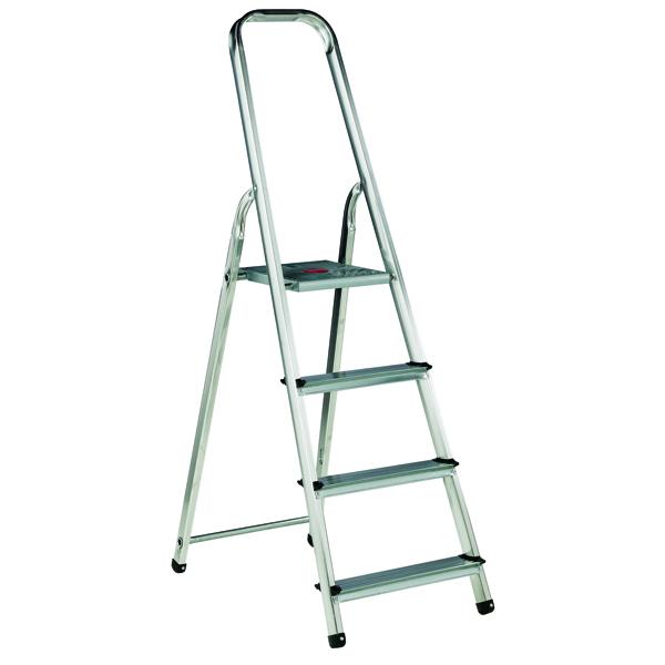 Aluminium Step Ladder 4 Step (Platform sits 770mm Above the Floor) 358738