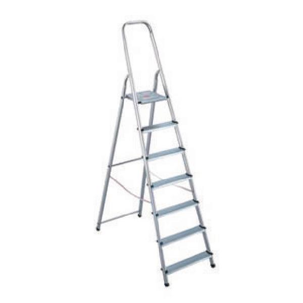 Aluminium Step Ladder 7 Step (Platform sits 1450mm Above the Floor) 358741