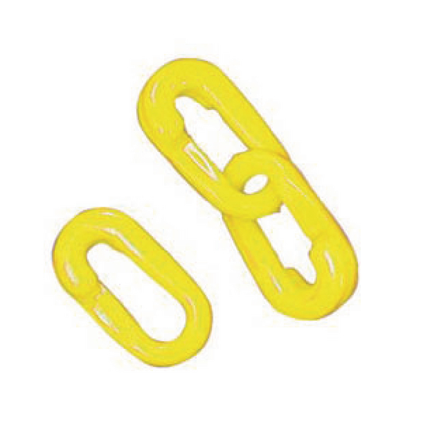 VFM Yellow Connecting Links 8mm Joint (Pack of 10) 360086