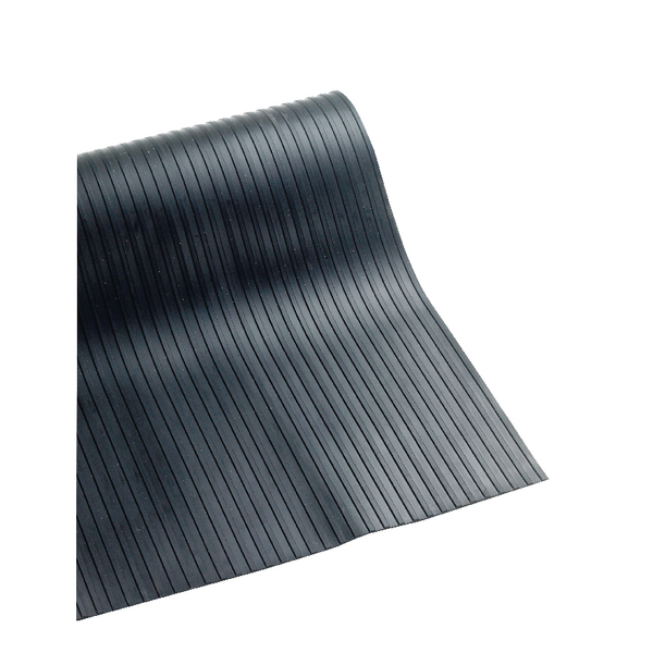 VFM Broad Ribbed 3mm Matting 1200mmx10m Black 378752