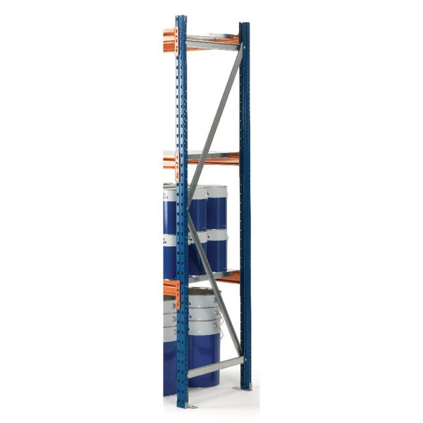 Quickspan Frame 2500X600mm Fully Assembled Blue 379825