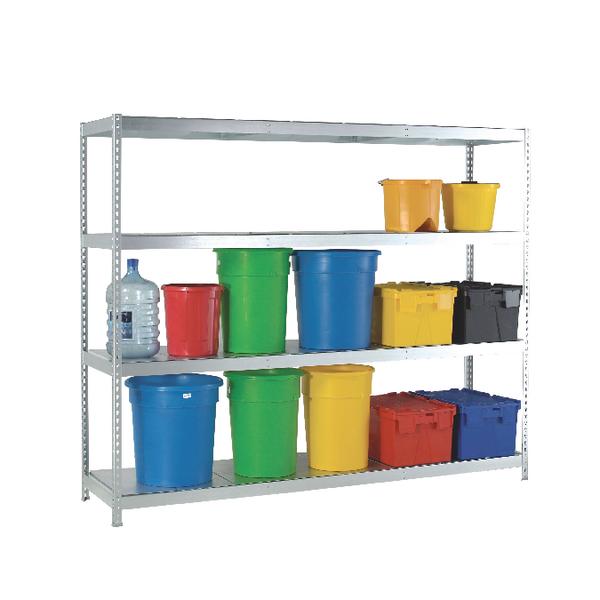 Heavy Duty Galvanised Additional Shelf 1800x450mm Orange/Zinc 378876