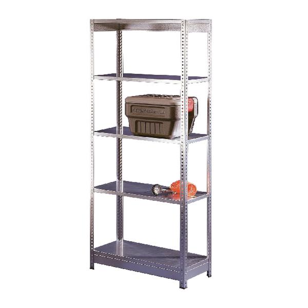 Heavy Duty Galvanised Additional Shelf 2400x600mm Orange/Zinc 378902
