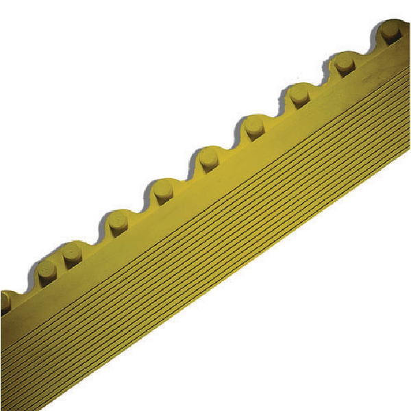 Yellow Anti-Fatigue Solid Surface Modular Edging 383416