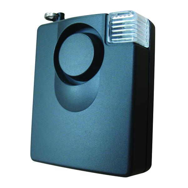 Sure Guard Electronic Personal Attack Alarm (140 decibels, includes 9V battery) PASC