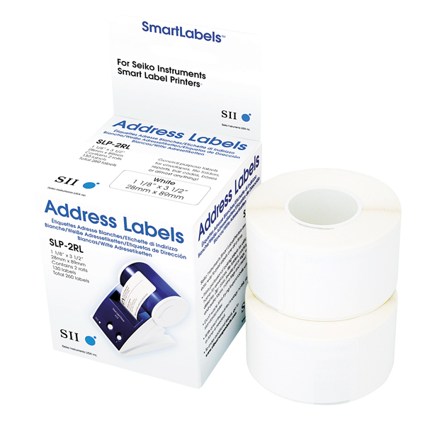 Seiko Address Label 28x89mm White (Pack of 260) SLP2RL