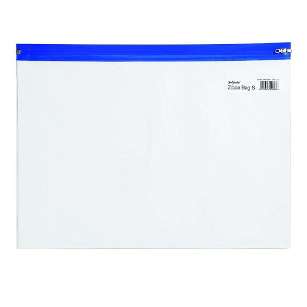 Snopake Zippa-Bag S Classic A4 Blue (Pack of 25) 12736