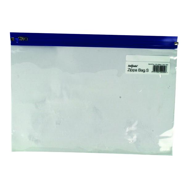 Snopake Zippa-Bag S Classic A4 Plus Blue (Pack of 25)12804