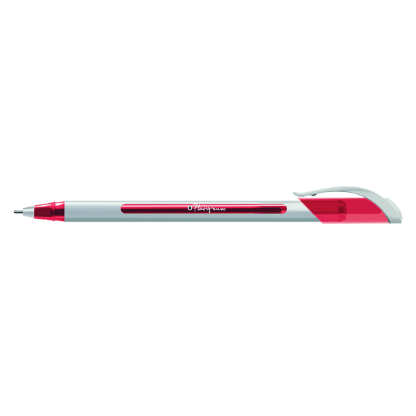 Snopake S-Tixx Ballpoint Pen Red (Pack of 12) 50514