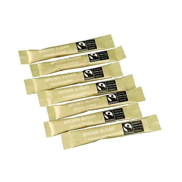 Fairtrade Brown Sugar Sachets (Pack of 1000) A03621