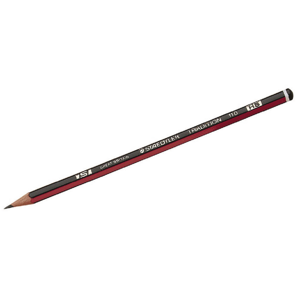 Staedtler Tradition 110 HB Pencil (Pack of 12) 110-HB
