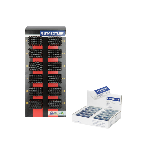 Staedtler Tradition 110 Pencil/Eraser Counter Display Unit 110CA288P