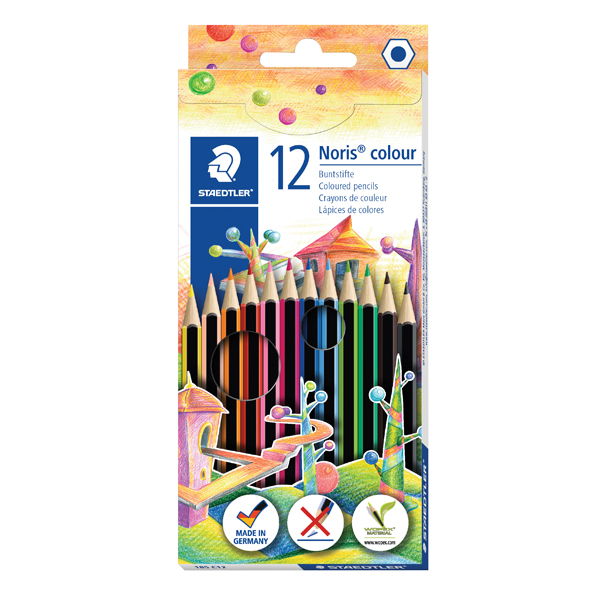 Staedtler Noris Colour Colouring Pencils (Pack of 120) 185 C12
