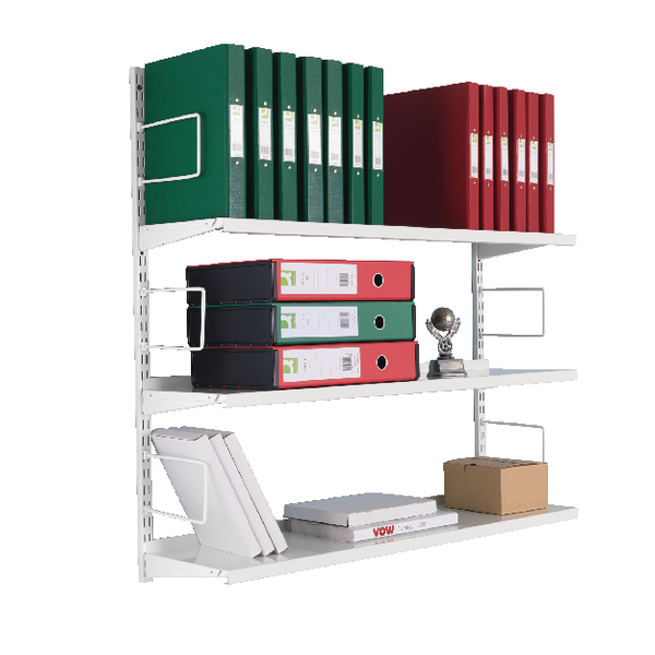 Zamba 3-Tier Wall Mounted Shelf Starter ZZTS4WH100T10027