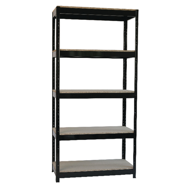 Zamba Medium Duty Boltless Shelving Unit 5 Shelves STS56221