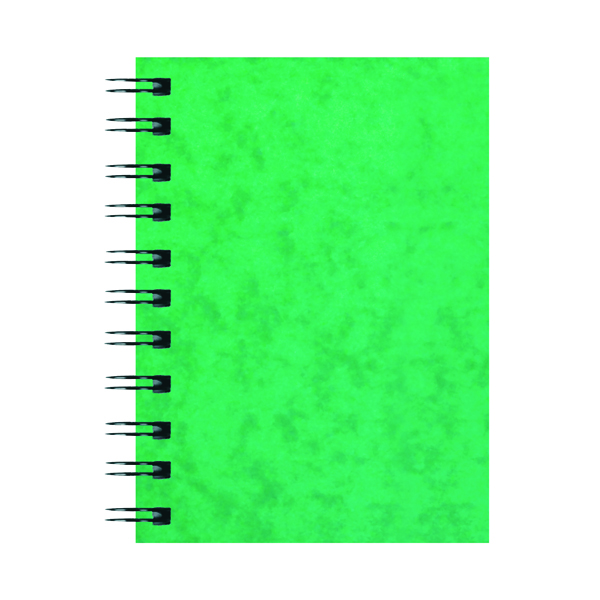 Silvine Luxpad Hardback Wirebound Notebook A6 (Pack of 12) SPA6