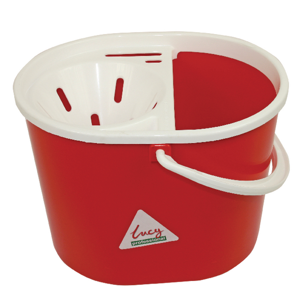 Lucy 15 Litre Mop Bucket Red L1405291