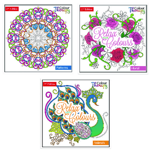 Tallon Adult Colouring Book Series 2 (Pack of 12) 6846