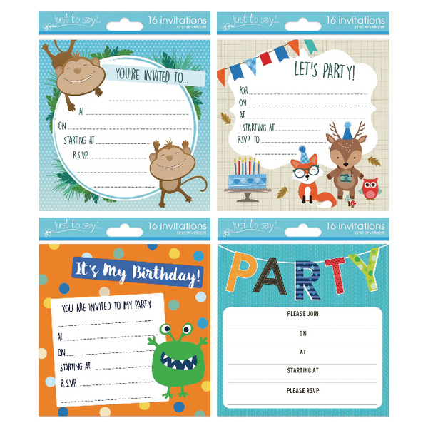 Tallon Boy Designs Invitation Cards (Pack of 192) 4399