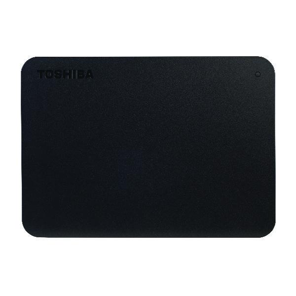 Toshiba Canvio Basics USB 3.0 External Hard Drive 1TB Black HDTB410EK3AA