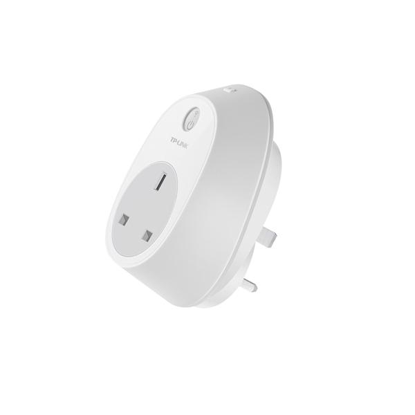 TP-Link Wi-Fi Smart Plug (Control devices through a smartphone, Amazon Echo Compatible) HS100