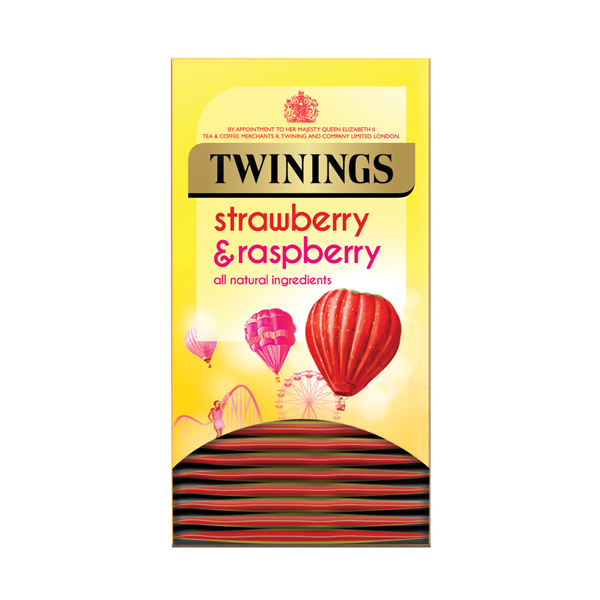 Twinings Strawberry and Raspberry Pack of 20 F14906