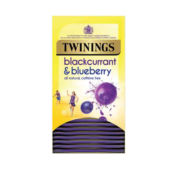 Twinings Blackcurrant and Blueberry Pack of 20 F14393