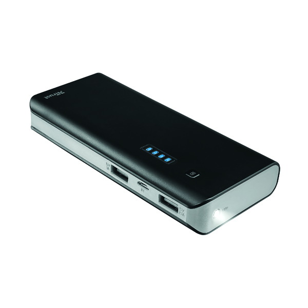 Primo Power Bank 10000mAh Black (2 USB ports) 21149