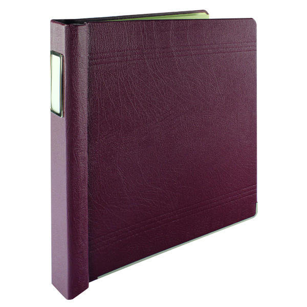 Rexel Crown 3C Binder Maroon (324 x 229mm) 75003