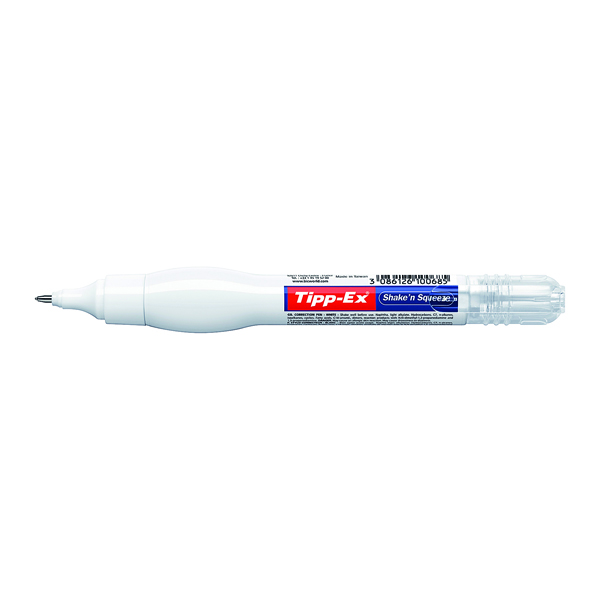 Tipp-Ex Shake n Squeeze Correction Pen 8ml (Pack of 10) 802422