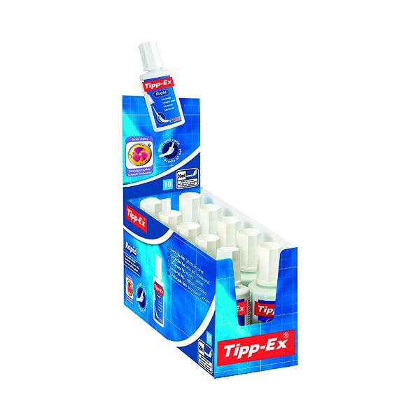 Tipp-Ex Rapid Correction Fluid 20ml (Pack of 10) 885992