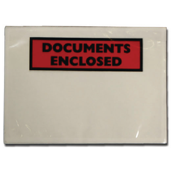 GoSecure Document Envelopes Documents Enclosed Self Adhesive A7 (Pack of 1000) 4302001