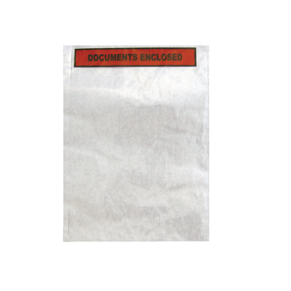 GoSecure Document Envelopes Documents Enclosed Self Adhesive A4 (Pack of 500) 4301004