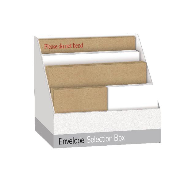 Envelope Selection Box Assorted White/Manilla UB70062