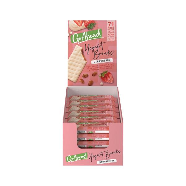 Go Ahead Strawberry Yoghurt Break (Pack of 24) 11300