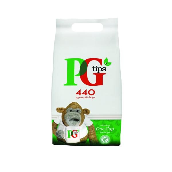 PG Tips Pyramid Tea Bag Pk440 67395657