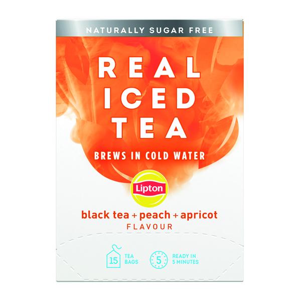 Lipton Cold Brew Black Tea Peach (Pack of 15) 67737978