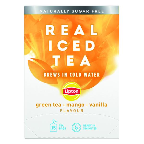 Lipton Cold Brew Green Tea Mango (Pack of 15) 67737992