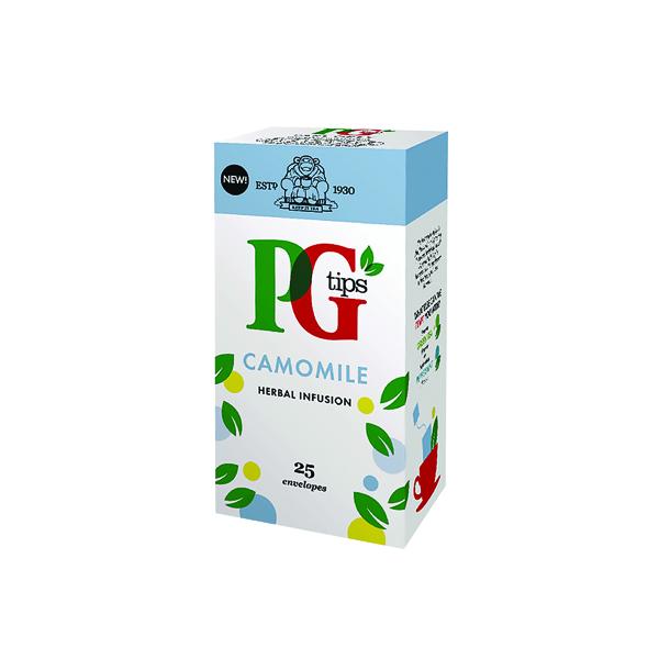 PG Tips Camomile Envelope Tea Bags (Pack of 25) 49095901