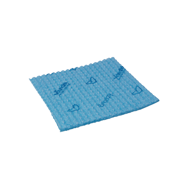 Vileda Breazy Microfibre Cloth Blue (Pack of 20) 137638