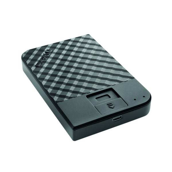 Verbatim Fingerprint Secure Hard Drive 1TB 53650