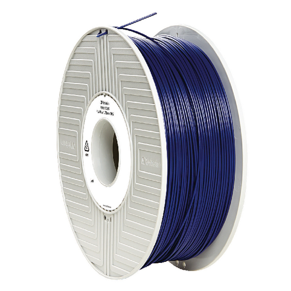Verbatim PLA 3D Blue Printing Filament Reel 1.75mm 1kg 55269