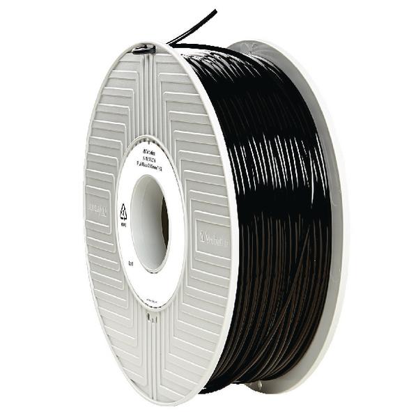 Verbatim PLA 3D Black Printing Filament Reel 2.85mm 1kg 55276