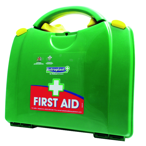 Wallace Cameron Green Box 10 Person First Aid Kit 1002278